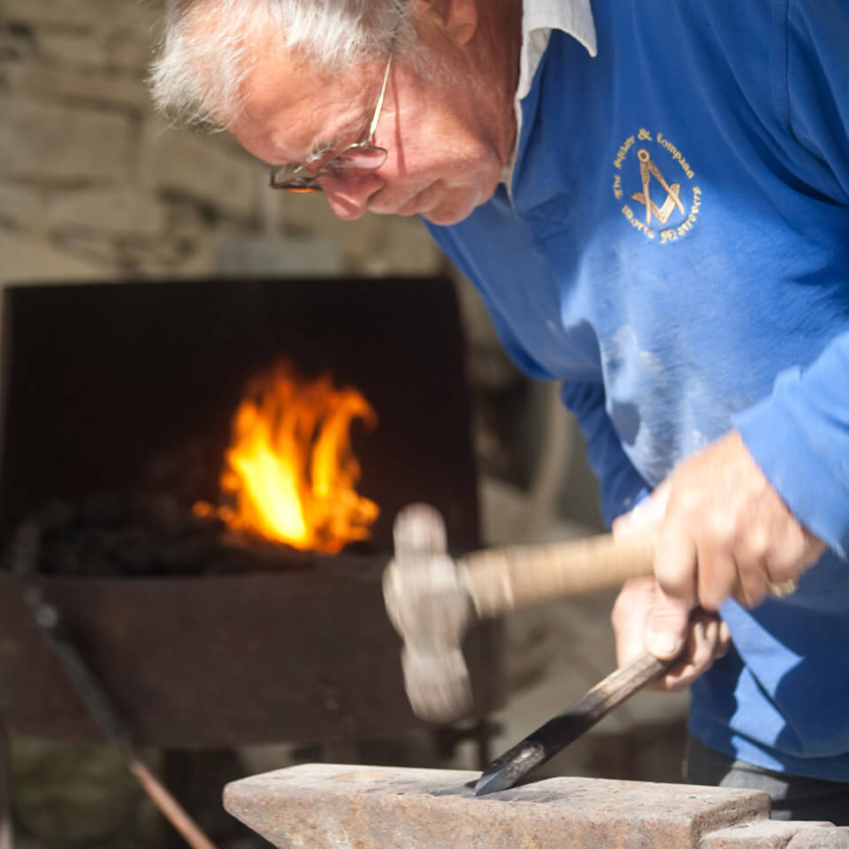 Burngate Stone Carving Centre forge