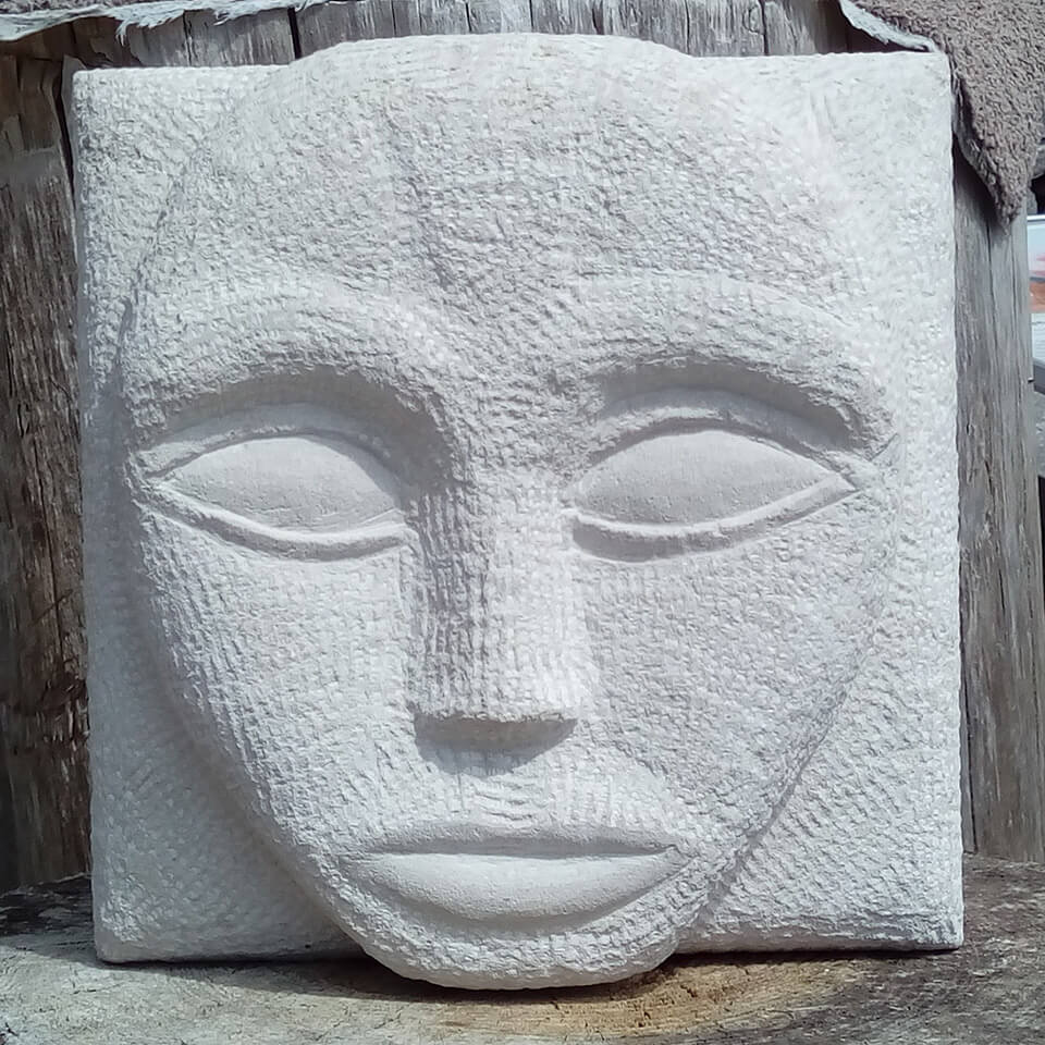 Burngate Stone Carving | Carved Stone Face