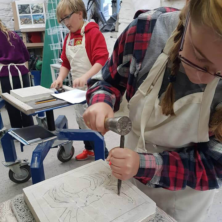 Burngate Stone Carving | Have a Go Stone Carving Course
