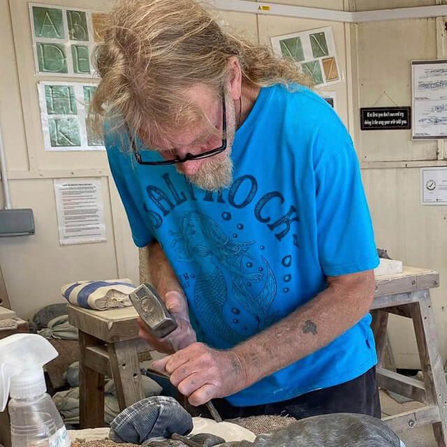 Burngate Stone Carving | Tutor Jigger Stockley