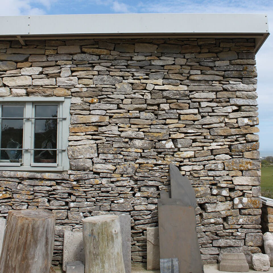 Burngate Stone Carving | Stone Walling