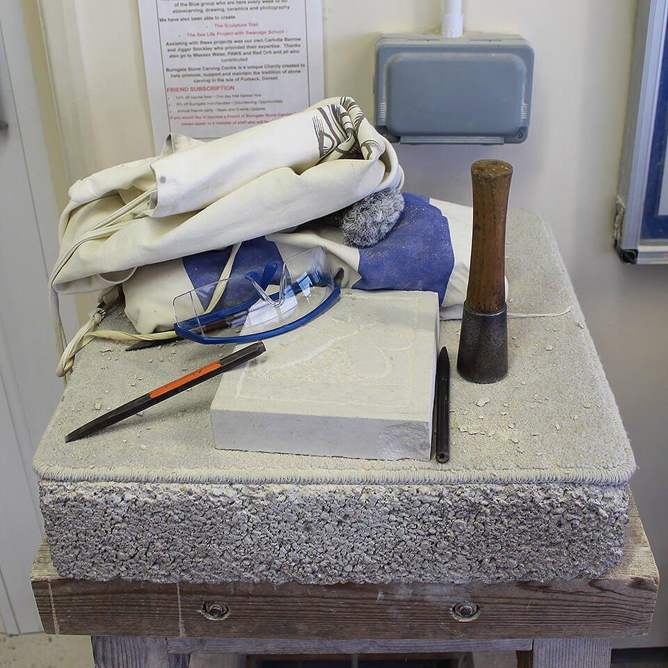 Burngate Stone Carving Centre Banker Hire