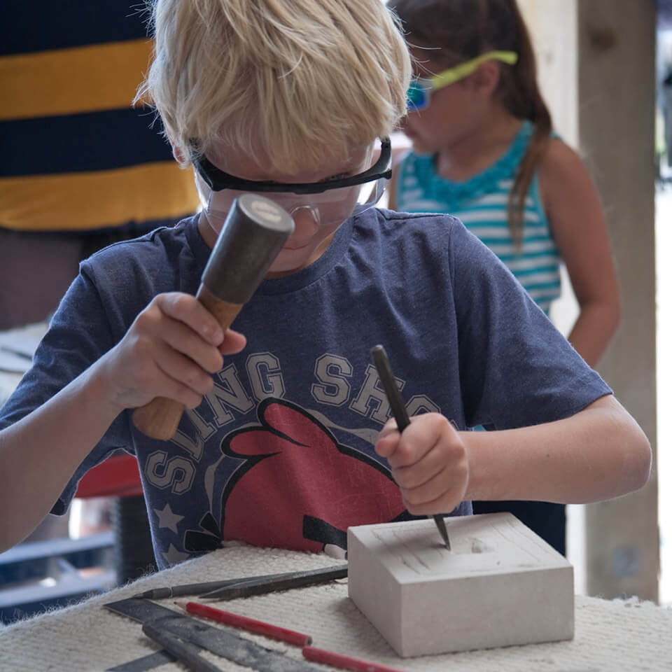 Burngate Stone Carving Centre birthday parties