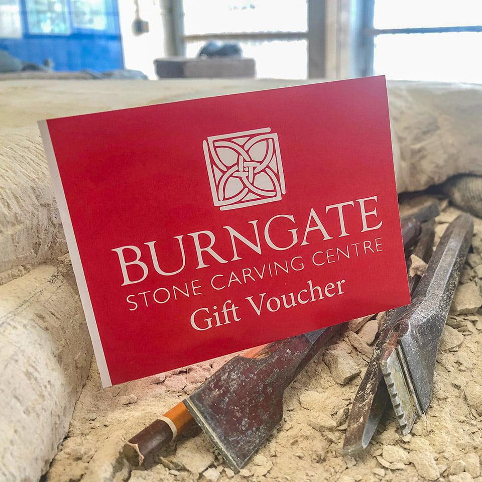 Burngate Stone Carving Centre Gift Voucher