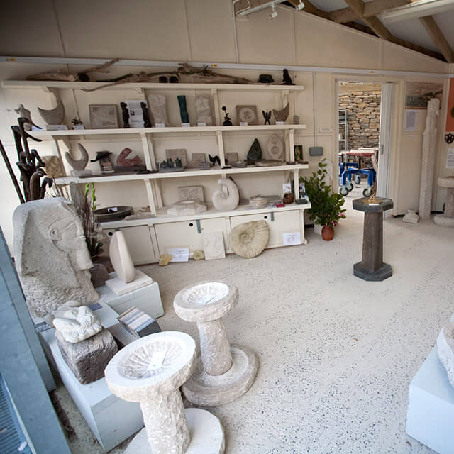 Burngate Stone Carving Centre gallery