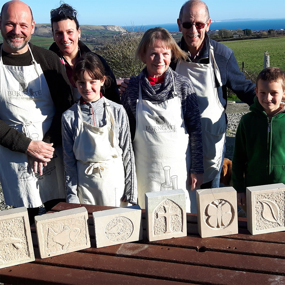 Burngate Stone Carving Centre Group Bookings